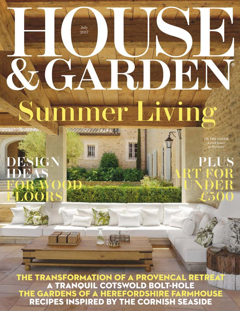 Back issues of House and Garden