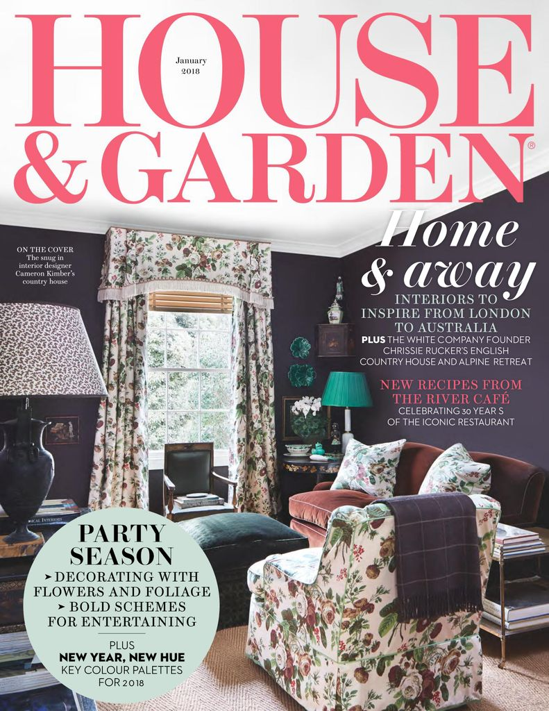 back issues of house and garden - House And Garden Magzine