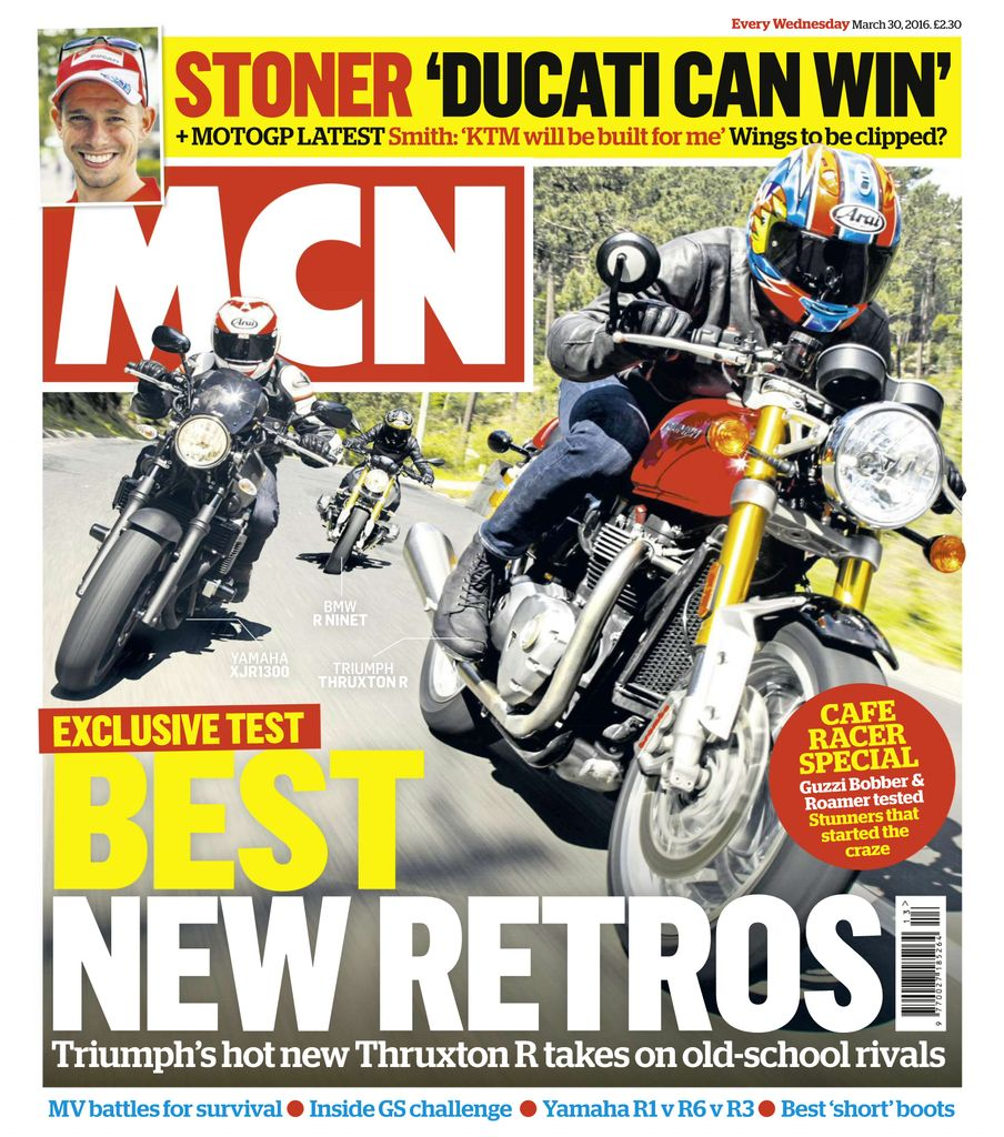 Back issues of MCN