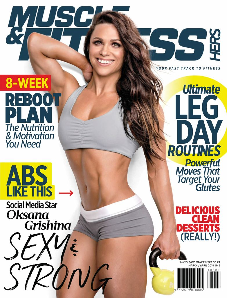 e4474f64dd3 Buy March April 2018 - Muscle   Fitness Hers South Africa