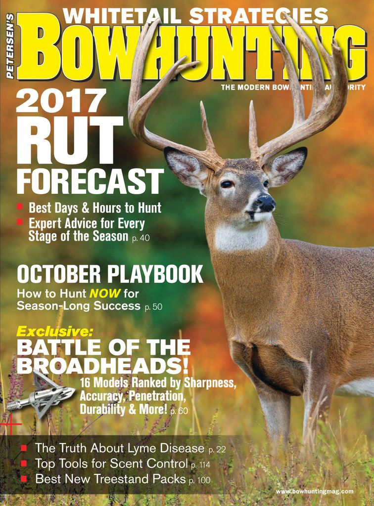 Buy October 2017 - Petersen's Bowhunting