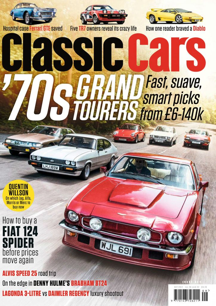Back issues of Classic Cars