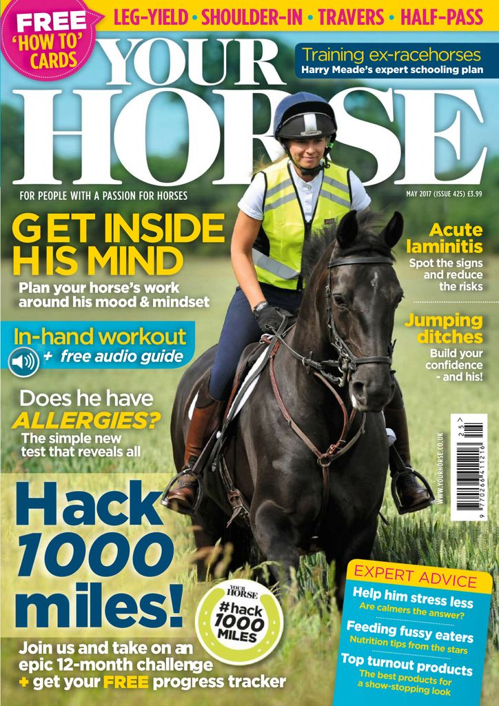 Back issues of Your Horse