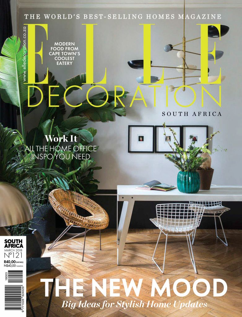 Back Issues Of Elle Decoration South Africa