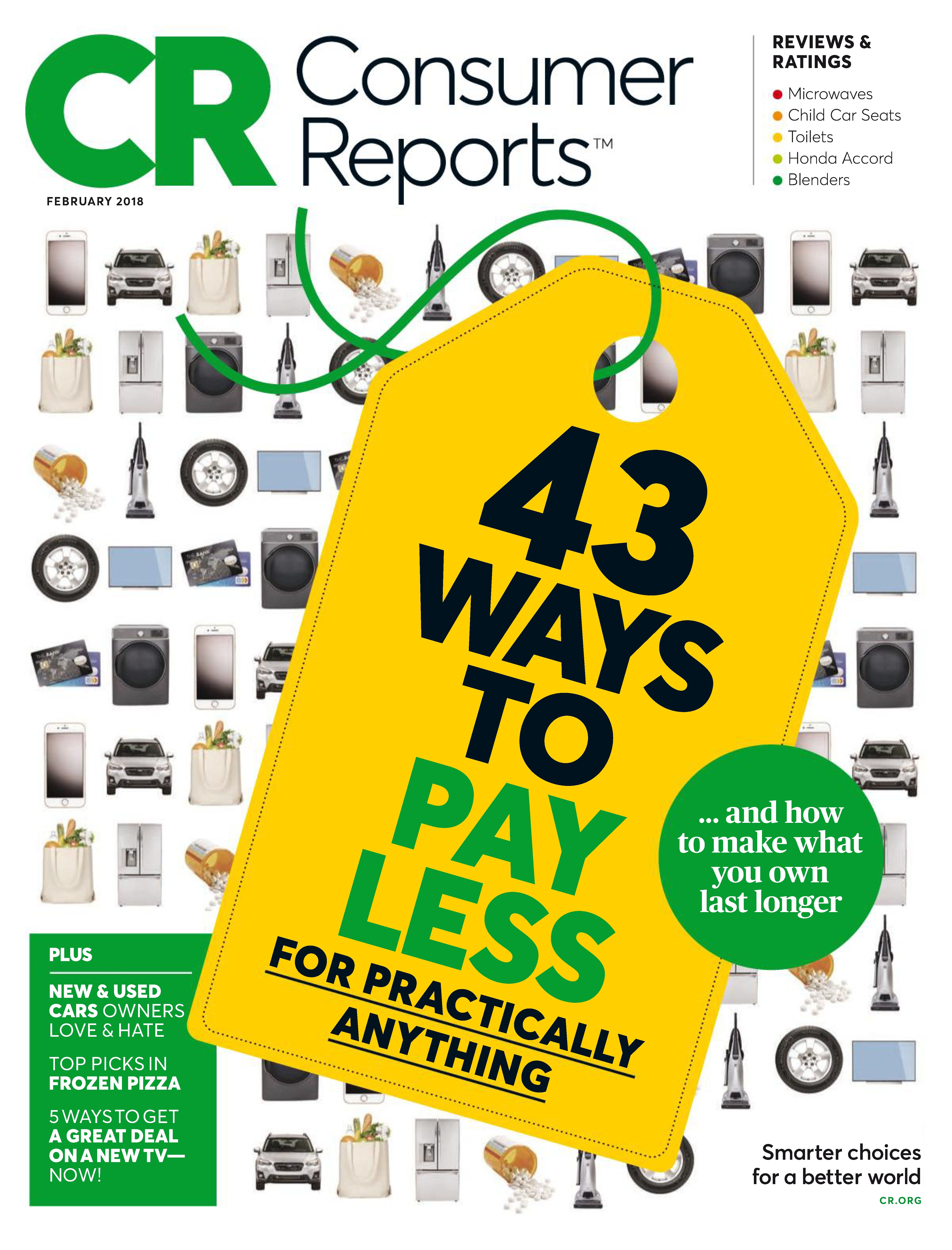 Buy February 2018   Consumer Reports