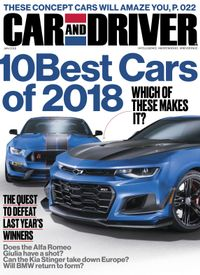 Car And Driver >> Buy January 2018 Car And Driver
