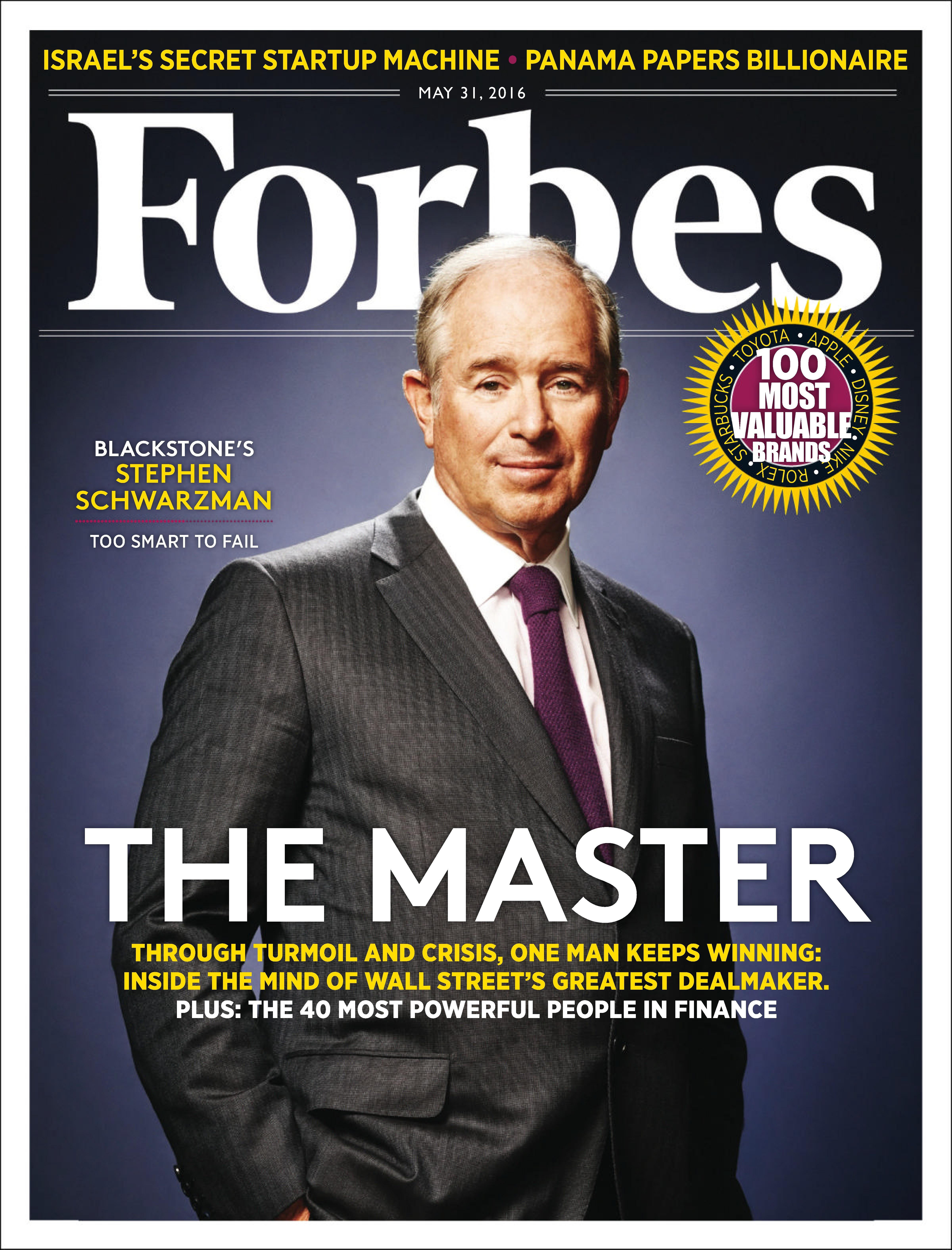 People magazine cover the new wall street