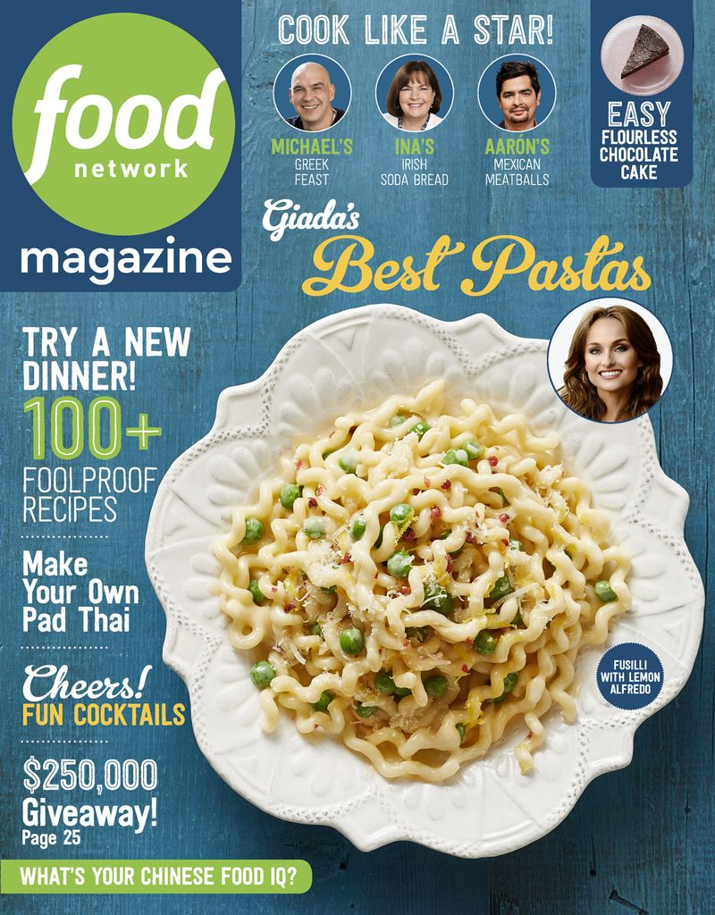 Buy March 2018 Food Network Magazine