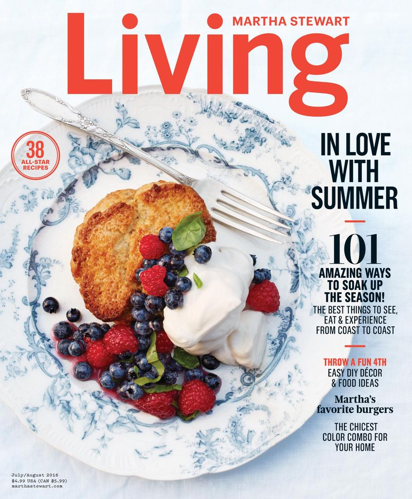 back issues of martha stewart living