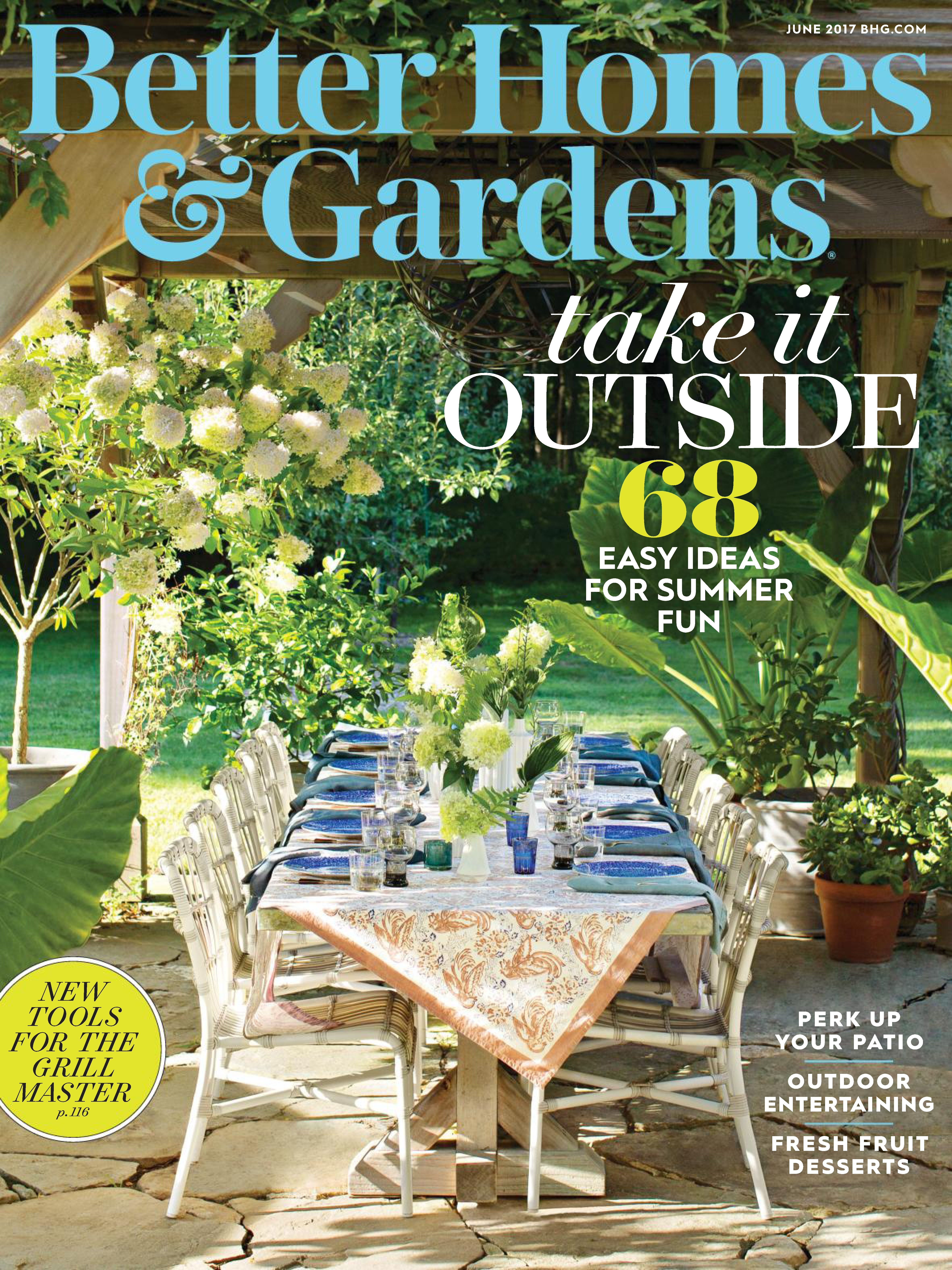 June 2017 Back Issue Of Better Homes And Gardens   Zinio.com