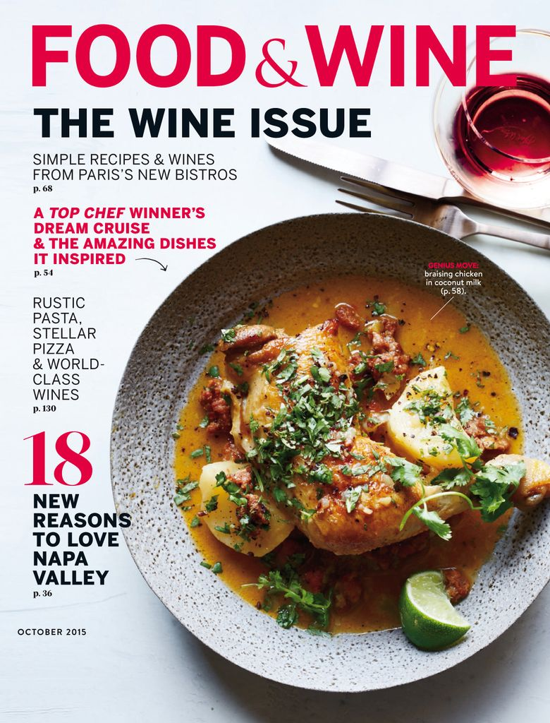 Back Issues Of Food Wine