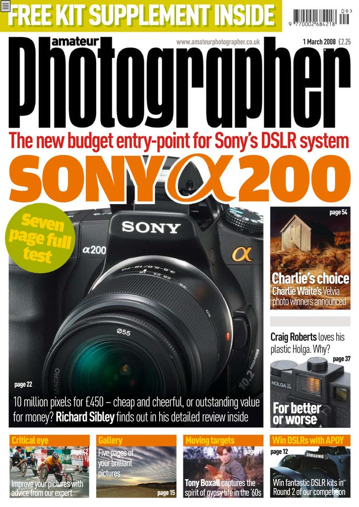 Back Issues Of Amateur Photographer