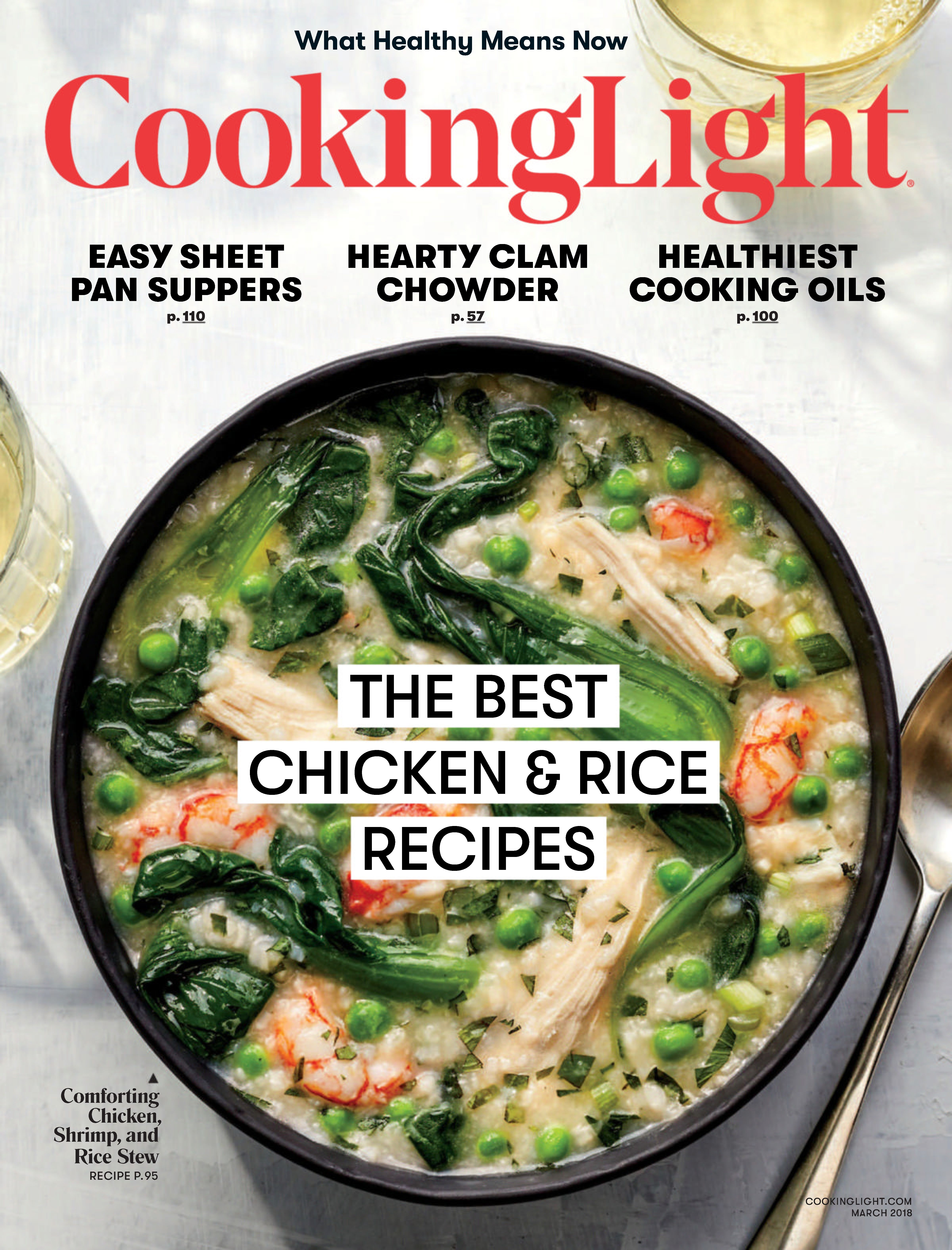 Buy March 2018   Cooking Light