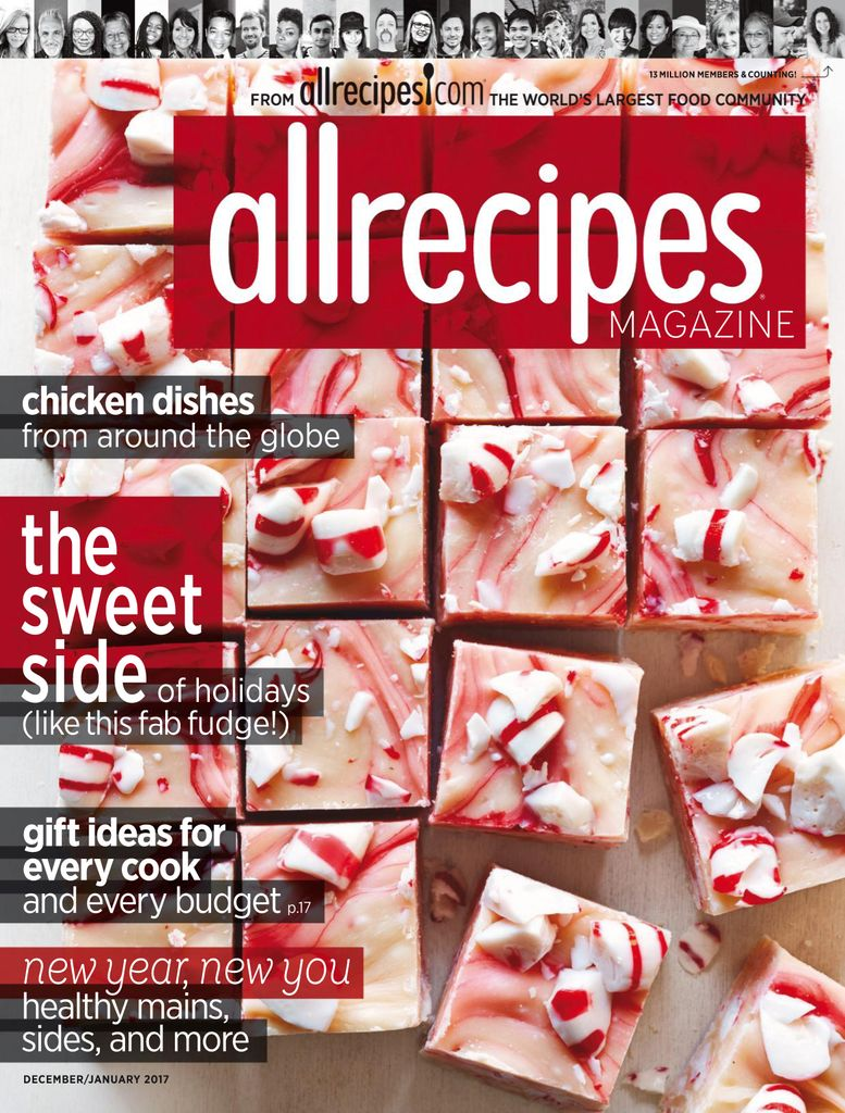 Back issues of Allrecipes