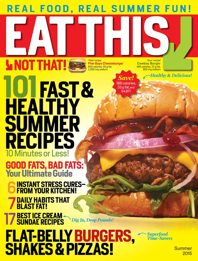 Buy Summer 2015 - Eat This, Not That!