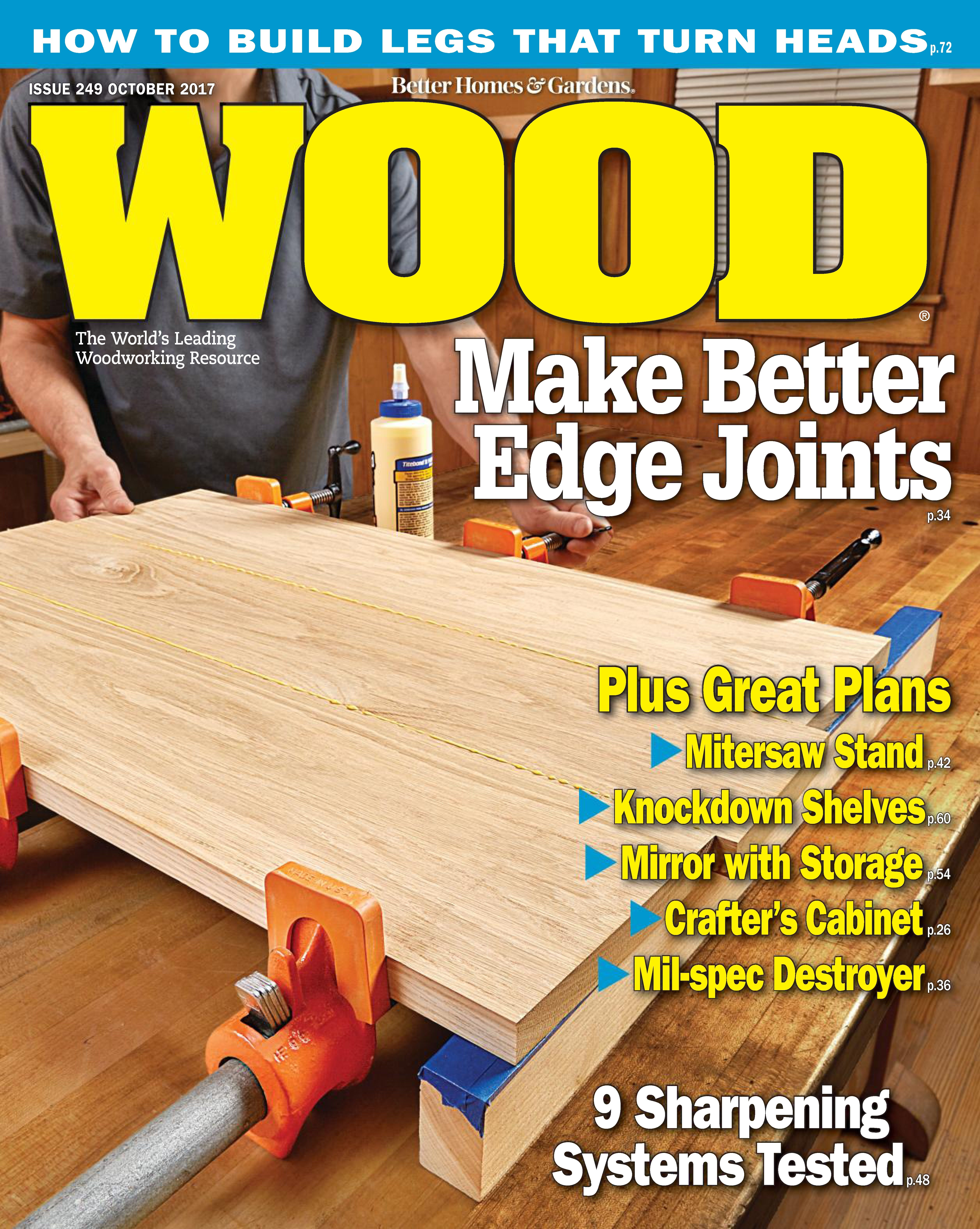 Back Issues Of WOOD Magazine