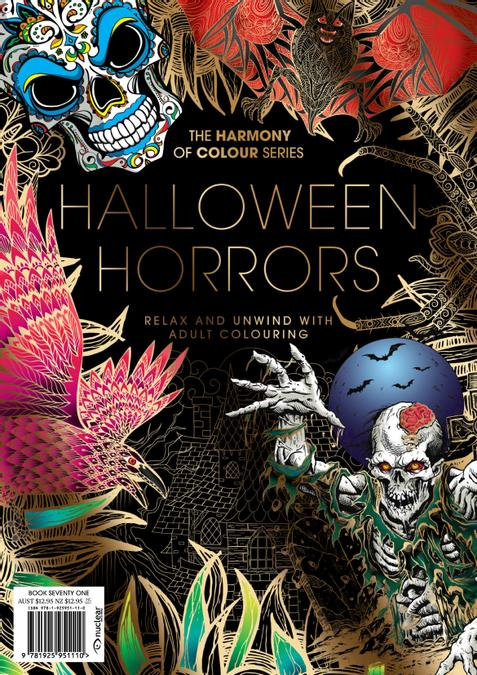 Colouring Book: Halloween Horrors