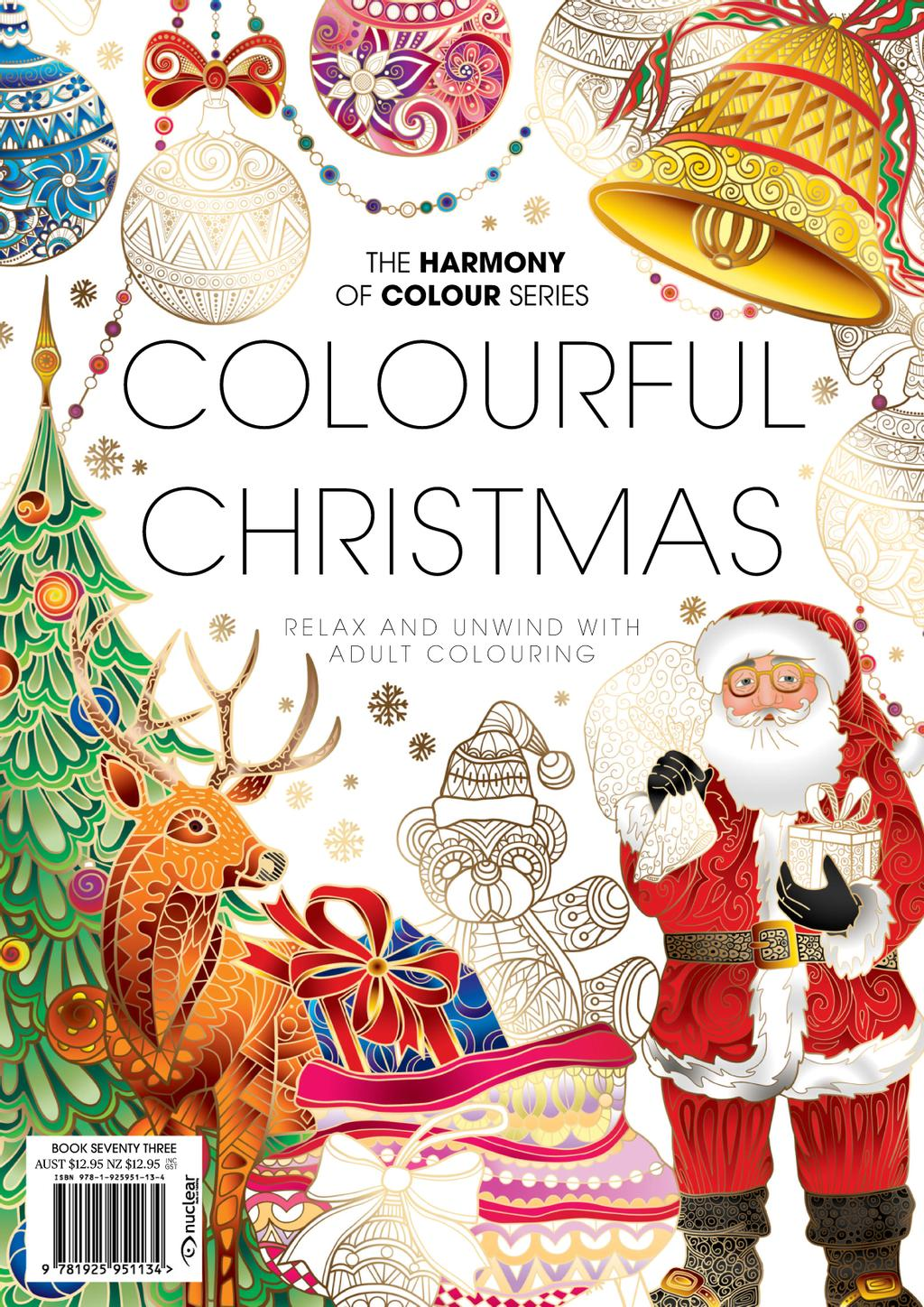 Colouring Book: Colourful Christmas