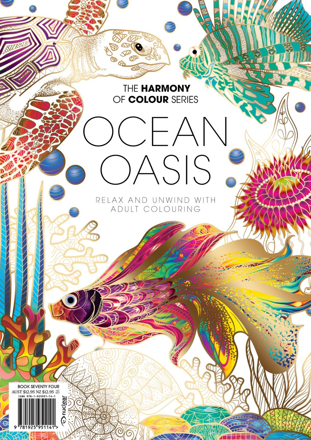 Colouring Book: Ocean Oasis