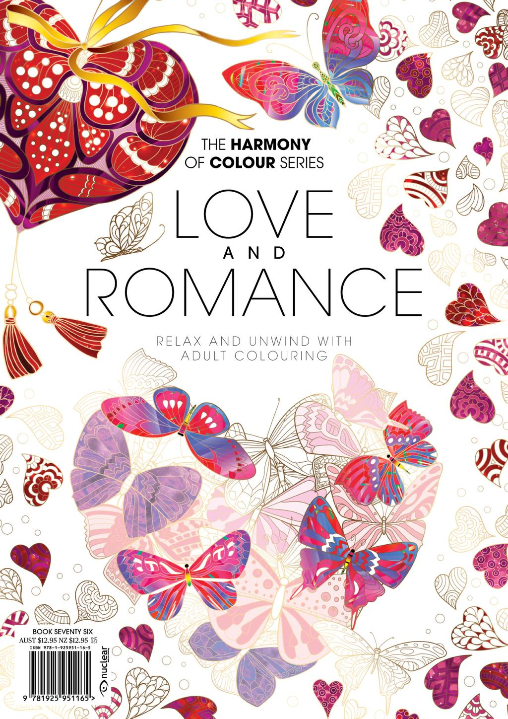 Colouring Book: Love and Romance