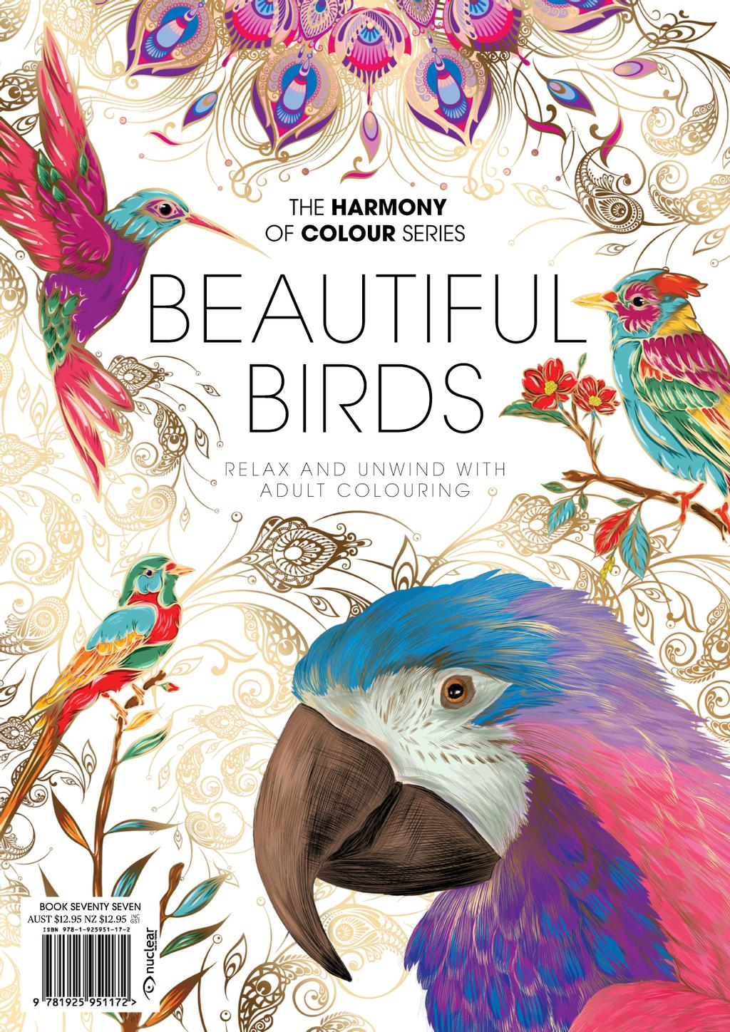 Colouring Book: Beautiful Birds