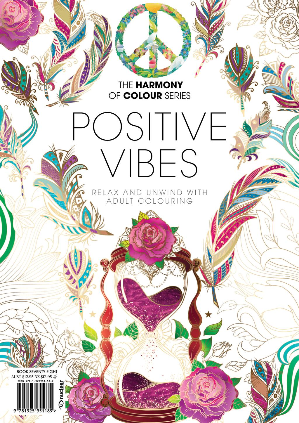Colouring Book: Positive Vibes