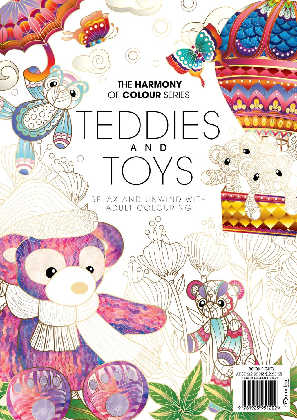 Colouring Book: Teddies and Toys