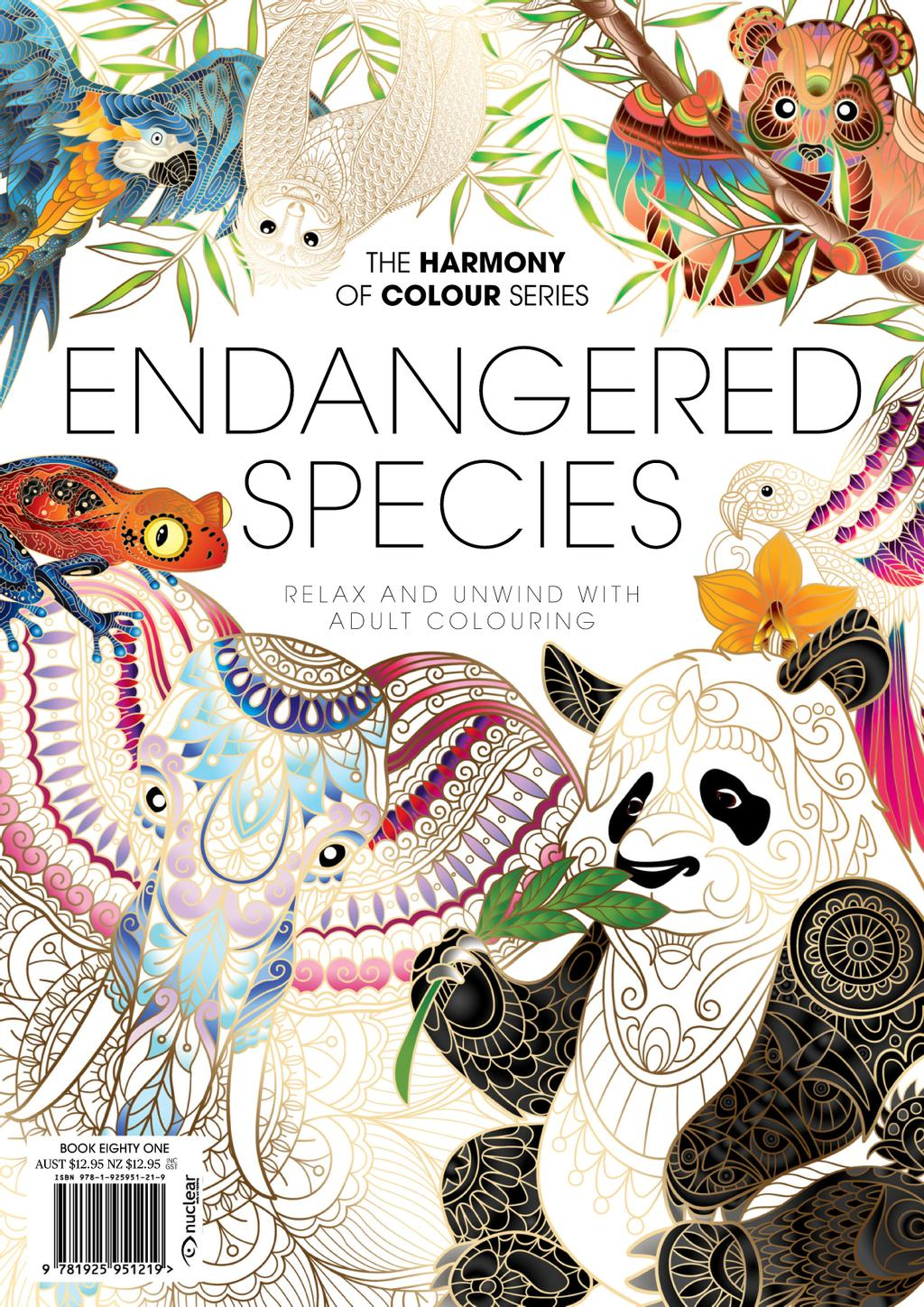 Colouring Book: Endangered Species