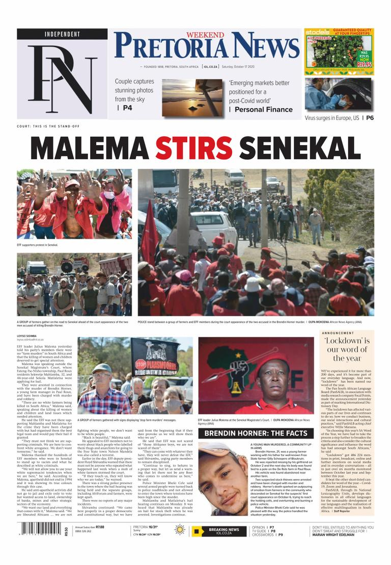 Pretoria News Weekend