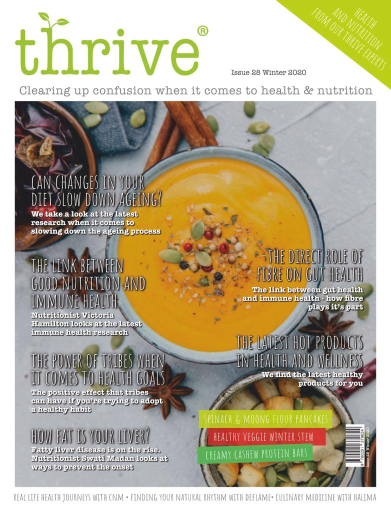 Thrive Health & Nutrition Magazine