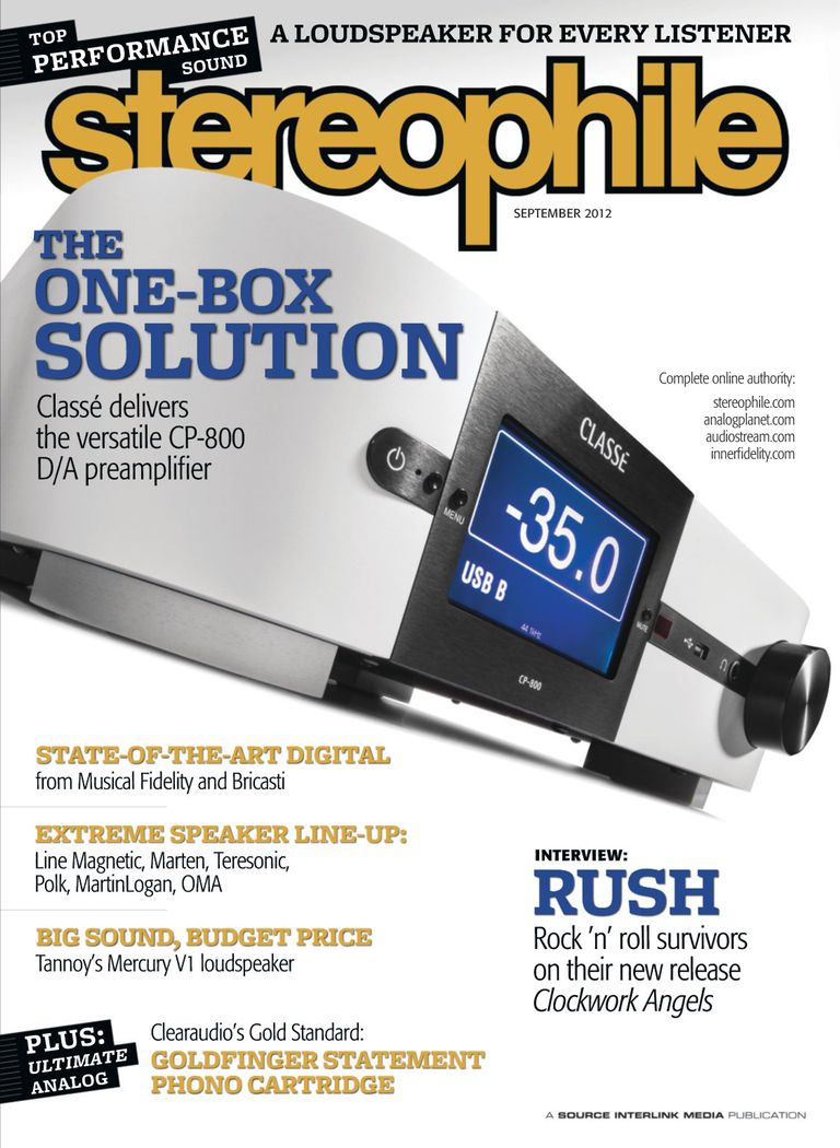 Buy Sep-12 - Stereophile