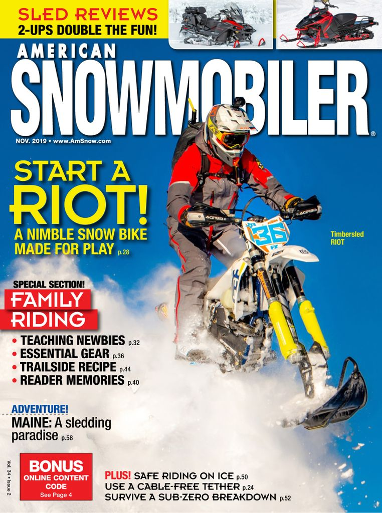 American Snowmobiler - Subscription Subscriptions