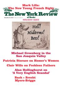 December 19, 2018 issue of New York Review of Books