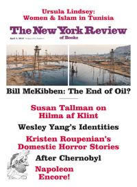 April 03, 2019 issue of New York Review of Books