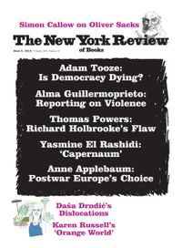 June 05, 2019 issue of New York Review of Books