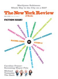 July 17, 2019 issue of New York Review of Books