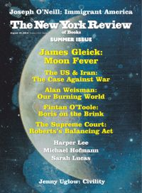 August 14, 2019 issue of New York Review of Books