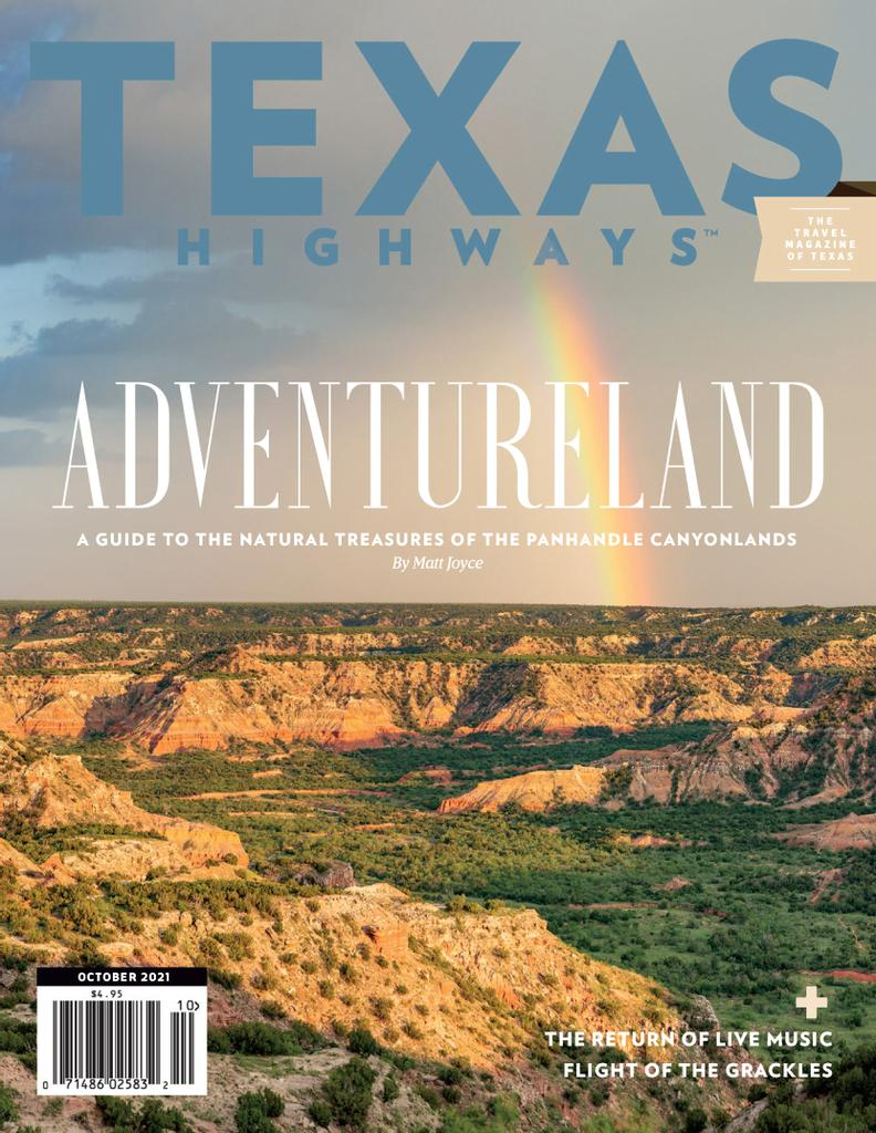 Texas Highways Magazine - Subscription Subscriptions
