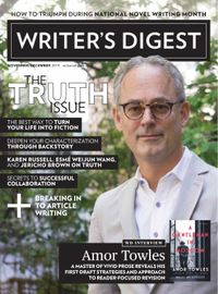October 31, 2019 issue of Writer's Digest