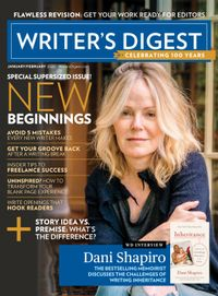 December 31, 2019 issue of Writer's Digest