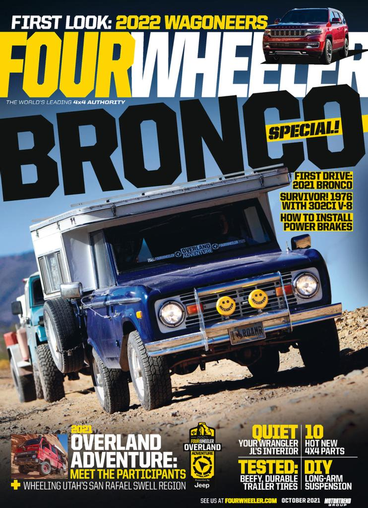 Four Wheeler Magazine Cover