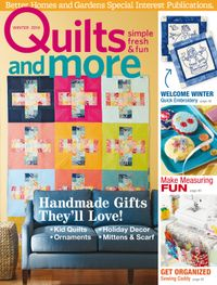 December 01, 2014 issue of Quilts and More