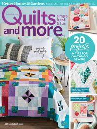 June 01, 2018 issue of Quilts and More