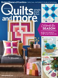 January 01, 2019 issue of Quilts and More