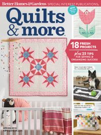 December 26, 2018 issue of Quilts and More