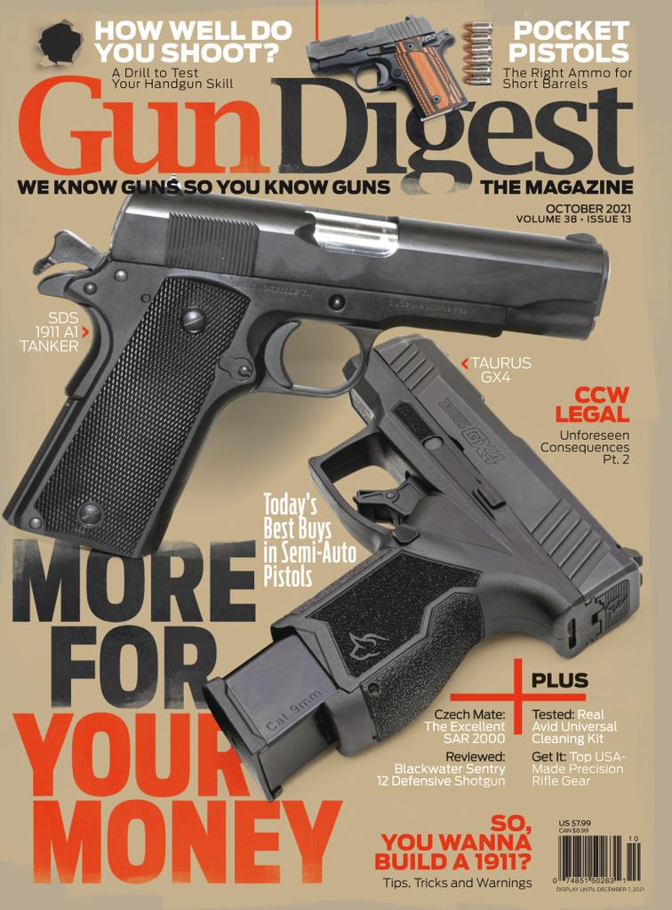 Gun Digest - Subscription Subscriptions