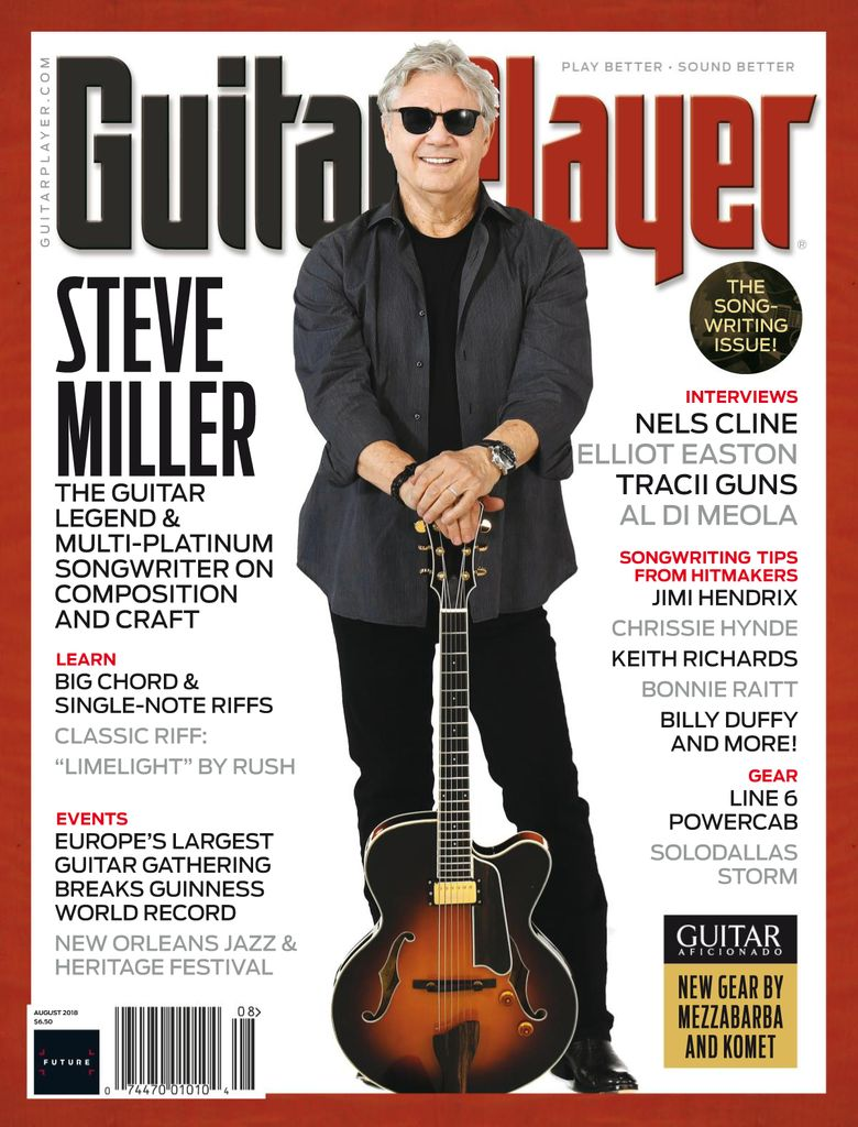 Back Issues Of Guitar Player