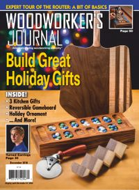 November 30, 2018 issue of Woodworker's Journal