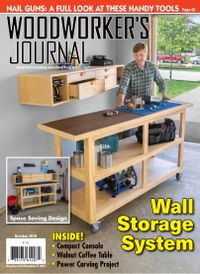 September 30, 2019 issue of Woodworker's Journal