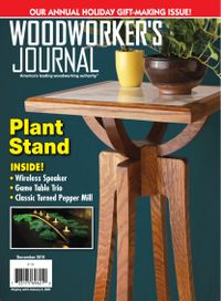 November 30, 2019 issue of Woodworker's Journal